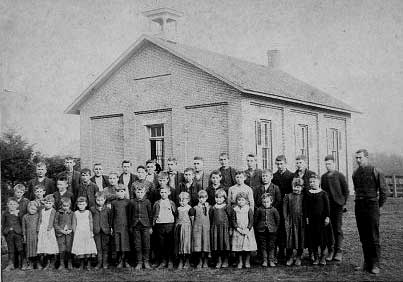 Old Country School, circa 1905